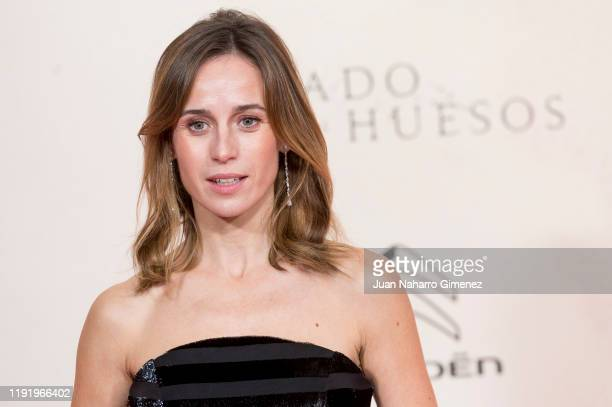 Spanish actress Marta Etura attends 'Legado En Los Huesos' premiere at Kinepolis Cinema on December 04, 2019 in Madrid, Spain.