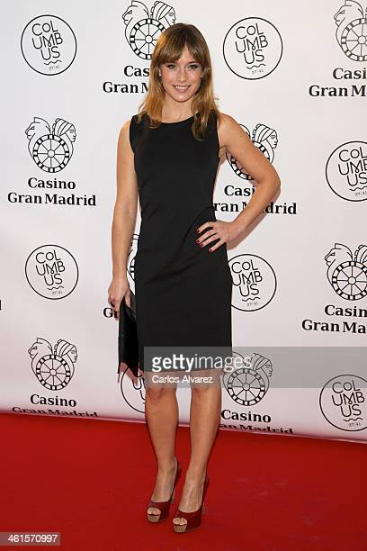 Spanish actress Marta Etura attends the Casino Gran Madrid Colon opening on January 9, 2014 in Madrid, Spain.