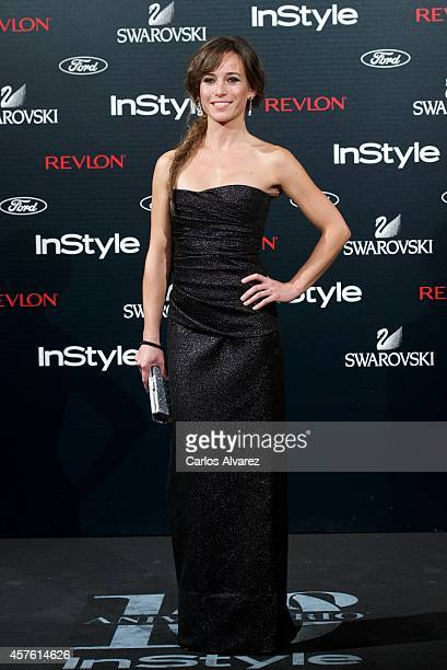 Spanish actress Marta Etura attends the In Style Magazine 10th Anniversary party at the Melia Fenix Hotel on October 21 2014 in Madrid Spain
