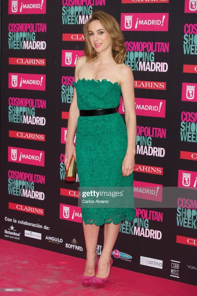 Spanish actress Marta Hazas attends the 'Cosmopolitan Shopping Week' party at the Plaza de Callao on May 28, 2013 in Madrid, Spain.