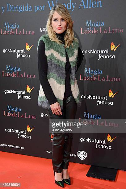 Spanish actress Marta Larralde attends 'Inquilinos' premiere photocall at Madrid Premiere Week on December 2 2014 in Madrid Spain