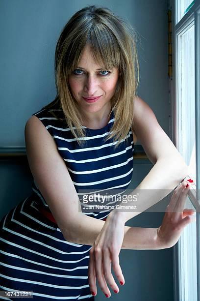 Spanish actress Marta Larralde of 'Todas Las Mujeres' film poses for a portrait session during 16 Malaga Film Festival on April 24 2013 in Malaga...