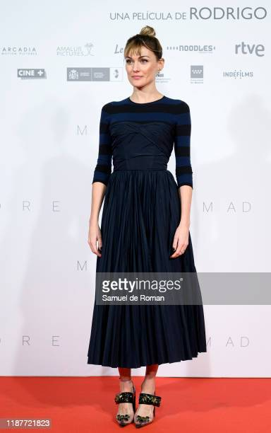 Spanish actress Marta Nieto attends Madre Madrid Premiere on November 14 2019 in Madrid Spain