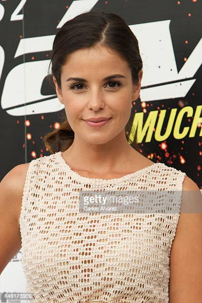 Spanish actress Marta Torne attends Impavido photocall at Academia de Cine on July 24 2012 in Madrid Spain