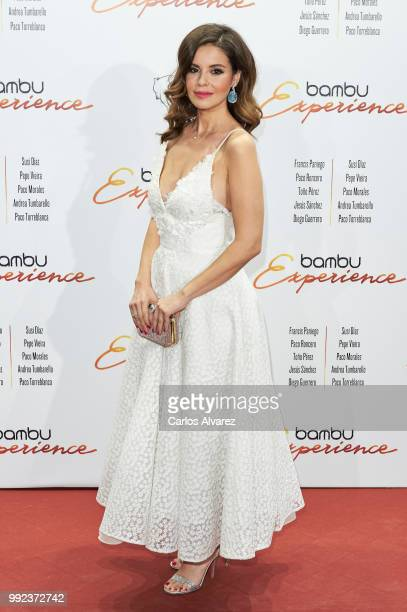 Spanish actress Marta Torne attends the Bambu 10th anniversary party at Gran Maestre Theater on July 5 2018 in Madrid Spain
