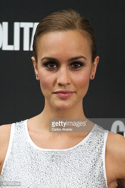 Spanish actress Megan Montaner attends the Cosmopolitan Fun Fearless Awards 2014 at the Ritz Hotel on October 20 2014 in Madrid Spain
