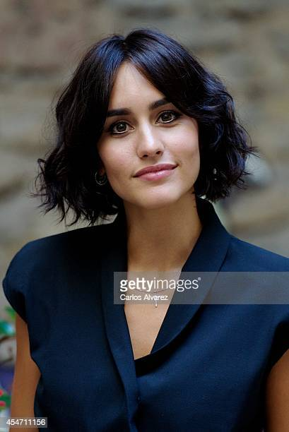 Spanish actress Megan Montaner attends the Vertele awards 2014 at the Villa Suso Palace during day 5 of the 6th FesTVal Television Festival 2014 on...