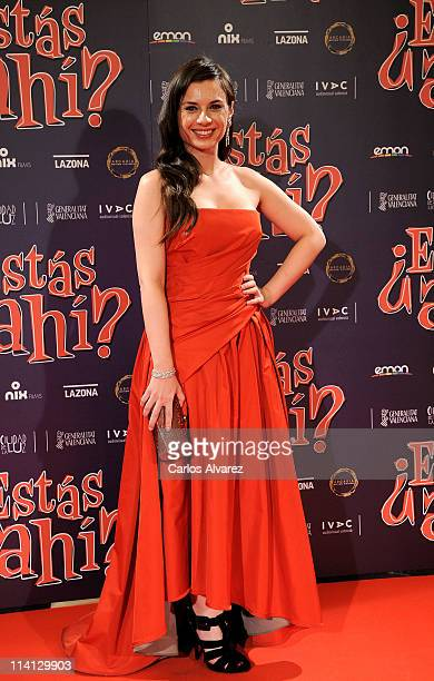 Spanish actress Miren Ibarguren attends 'Estas Ahi' premiere at Palafox cinema on May 12 2011 in Madrid Spain