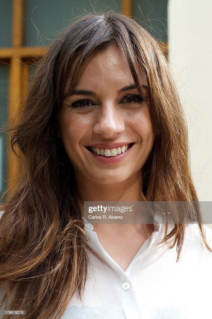 Spanish actress Miren Ibarguren attends the 'Aida' new season presentation during the day four of 5th FesTVal Television Festival 2013 at the Villa Suso Palace on September 5, 2013 in Vitoria-Gasteiz, Spain.