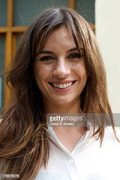 Spanish actress Miren Ibarguren attends the Aida new season presentation during the day four of 5th FesTVal Television Festival 2013 at the Villa...