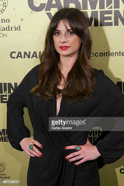 Spanish actress Miren Ibarguren attends the Carmina y Amen premiere at the Callao cinema on April 28 2014 in Madrid Spain