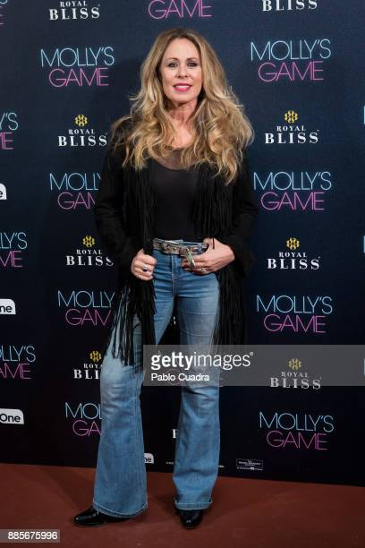 Spanish actress Miriam DiazAroca attends 'Molly's Game' Madrid premiere at Callao Cinema on December 4 2017 in Madrid Spain