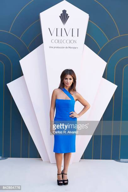 Spanish actress Monica Cruz attends 'Velvet Colecction' photocall at the Escoriaza Esquivel Palace during the FesTVal 2017 on September 5 2017 in...