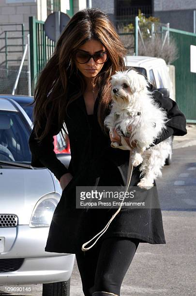 Spanish actress Monica Cruz is seen on March 1 2011 in Madrid Spain