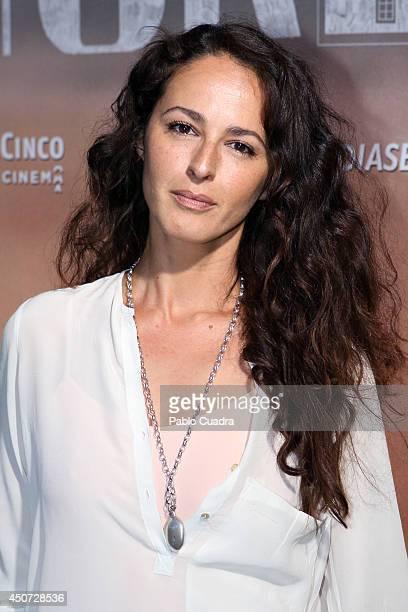 Spanish actress Monica Estarreado attends 'Perdona Si Te LLamo Amor' premiere at 'Cinesa Mendez Alvaro' Cinema on June 16, 2014 in Madrid, Spain.
