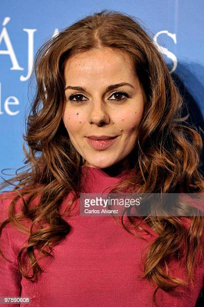 Spanish actress Myriam Gallego attends the Pajaros de Papel premiere at the Kinepolis cinema on March 9 2010 in Madrid Spain