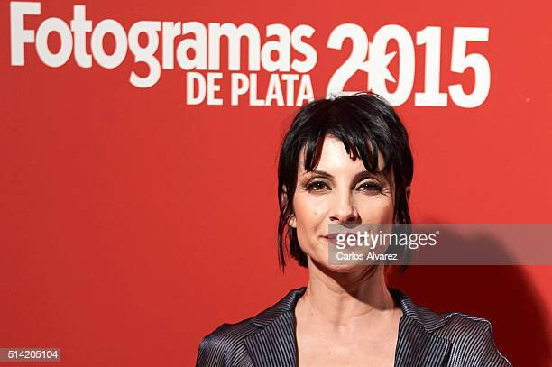 Spanish actress Najwa Nimri attends the Fotogramas Awards 2015 at the Joy Eslava Club on March 7, 2016 in Madrid, Spain.