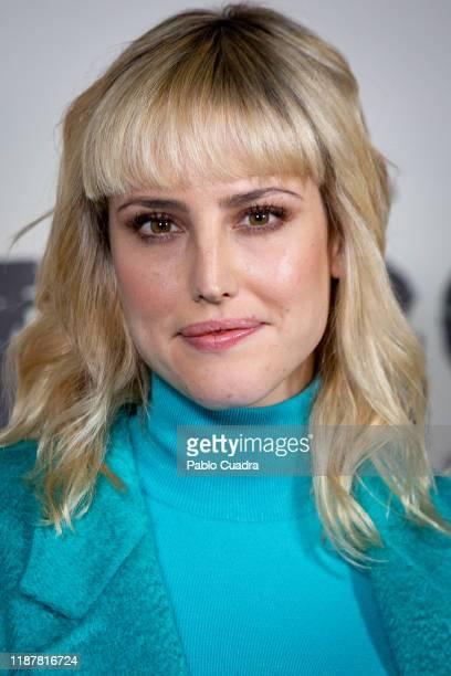 Spanish actress Natalia de Molina attends 'Adios' photocall on November 15 2019 in Madrid Spain