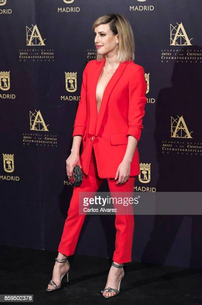 Spanish actress Natalia de Molina attends 'Hollywood Madrid' cocktail at the Casino de Madrid on October 9 2017 in Madrid Spain