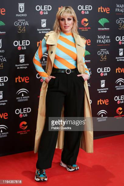 Spanish actress Natalia de Molina attends the Candidates to Goya Cinema Awards party at Florida Retiro on December 16, 2019 in Madrid, Spain.