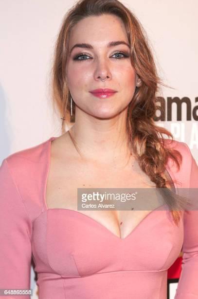 Spanish actress Natalia Rodriguez attends the Fotogramas Magazine cinema awards 2017 at the Joy Eslava Club on March 6 2017 in Madrid Spain