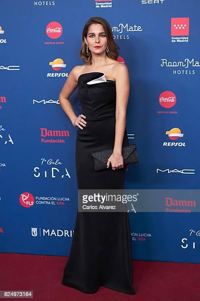 Spanish actress Natalia Sanchez attends 'Gala Sida' 2016 at Madrid City Hall on November 21 2016 in Madrid Spain