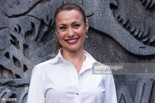 Spanish actress Natalia Verbeke attends the 'Jurassic World Fallen Kindom' premiere at WiZink Center on May 21 2018 in Madrid Spain