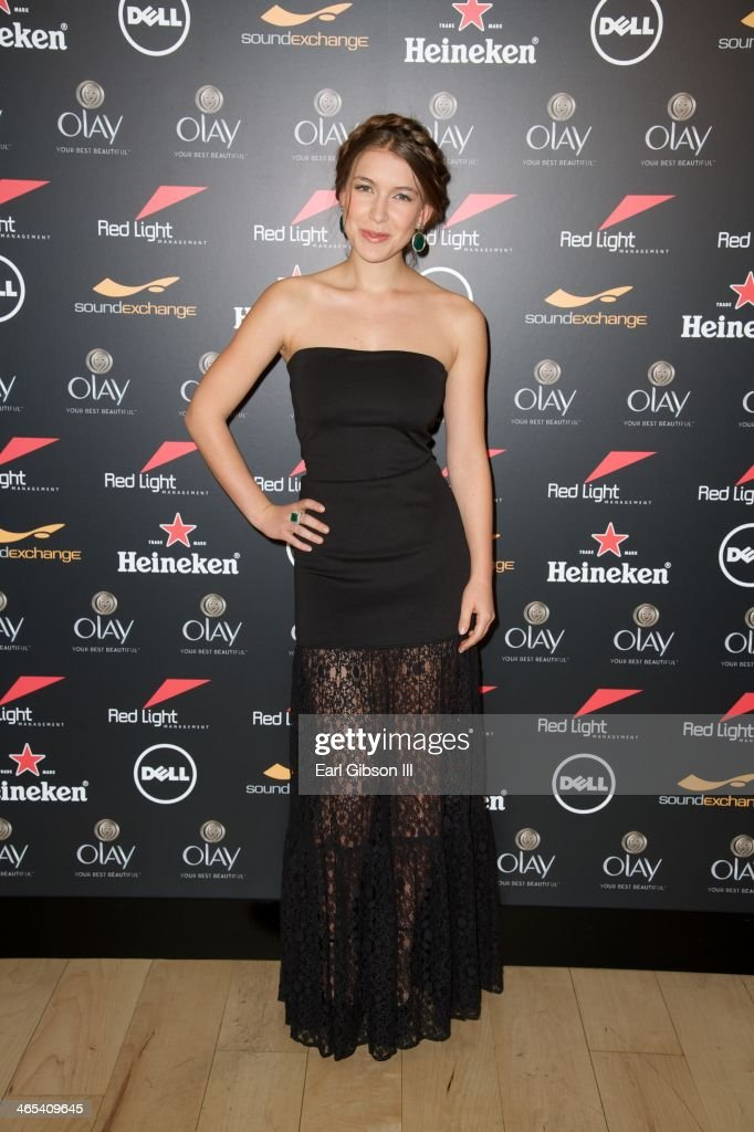Spanish Actress Nathalia Ramos attends The Grammy Awards Red Light Management Party at Sky Bar, Mondrian Hotel on January 26, 2014 in West Hollywood, California.