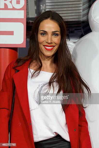 Spanish actress Nerea Garmendia attends Big Hero 6 premiere at the Capitol cinema on December 10 2014 in Madrid Spain