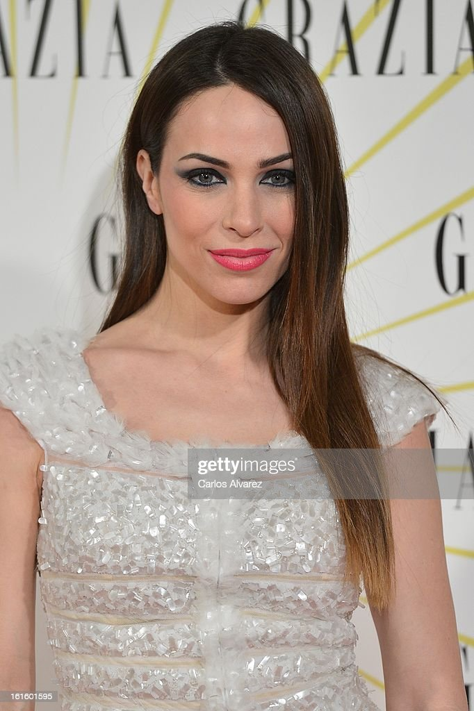 Spanish actress Nerea Garmendia attends the 'Grazia' magazine launch party at the Price theater on February 12, 2013 in Madrid, Spain.