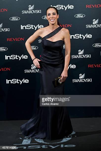 Spanish actress Nerea Garmendia attends the In Style Magazine 10th Anniversary party at the Melia Fenix Hotel on October 21 2014 in Madrid Spain