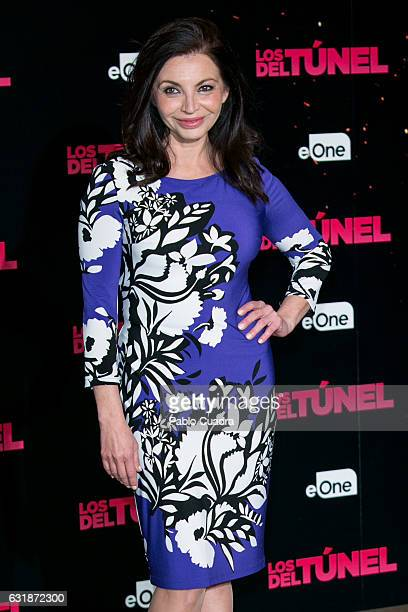 Spanish actress Neus Asensi attends the 'Los Del Tunel' photocall at Palafox Cinema on January 17 2017 in Madrid Spain