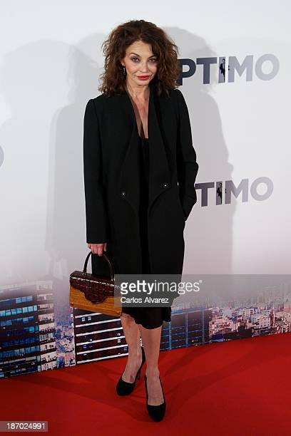 Spanish actress Neus Asensi attends the Septimo premiere at the Capitol cinema on November 5 2013 in Madrid Spain