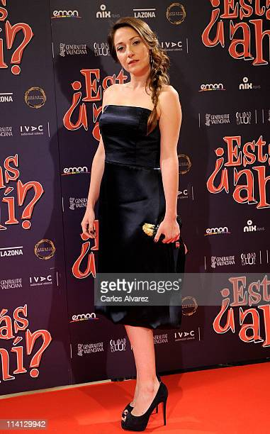 Spanish actress Olaya Martin attends Estas Ahi premiere at Palafox cinema on May 12 2011 in Madrid Spain