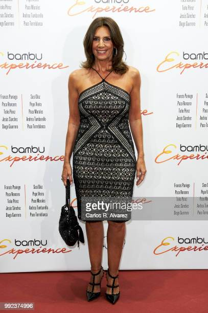 Spanish actress Pastora Vega attends the Bambu 10th anniversary party at Gran Maestre Theater on July 5, 2018 in Madrid, Spain.