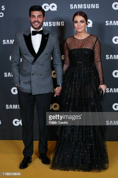 Spanish actress Paula Echevarria and Miguel Torres attend 'GQ Men Of The Year' awards 2019 at Westin Palace Hotel on November 21 2019 in Madrid Spain
