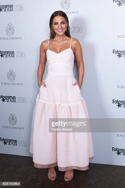 Spanish actress Paula Echevarria attends 'Fotogramas de Plata' awards 2016 at the Tatel Restaurant on February 13 2017 in Madrid Spain