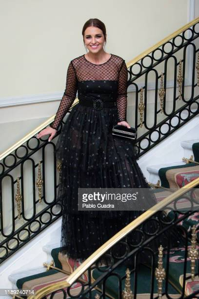 Spanish actress Paula Echevarria attends 'GQ Men Of The Year' awards 2019 at Westin Palace Hotel on November 21 2019 in Madrid Spain