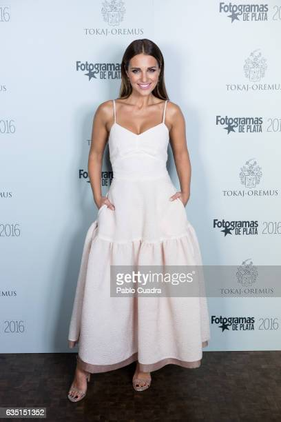 Spanish actress Paula Echevarria attends the 'Fotogramas de Plata' awards at 'Tatel' Restaurant on February 13 2017 in Madrid Spain