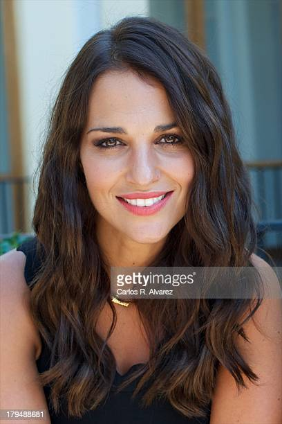 Spanish actress Paula Echevarria attends the 'Galerias Velvet' new season presentation during the day three of 5th FesTVal Television Festival 2013...
