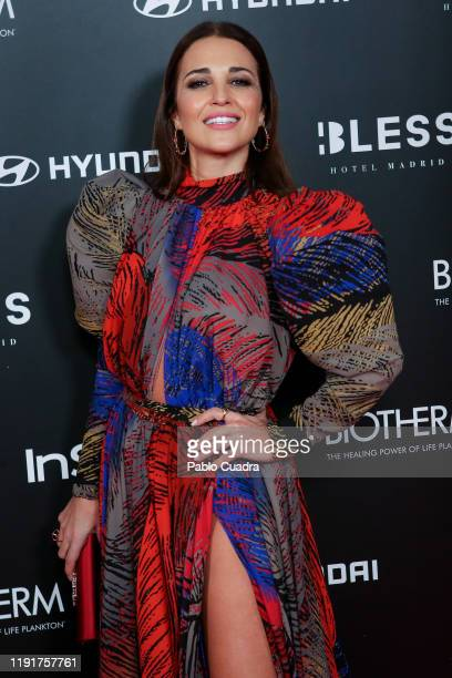 Spanish actress Paula Echevarria attends the InStyle 15th anniversary party at Bless Hotel on December 03 2019 in Madrid Spain