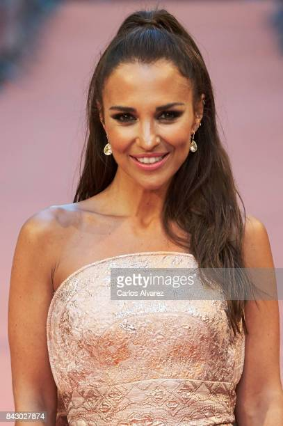 Spanish actress Paula Echevarria attends 'Velvet Colecction' premiere at the Principal Teather during the FesTVal 2017 on September 5 2017 in...