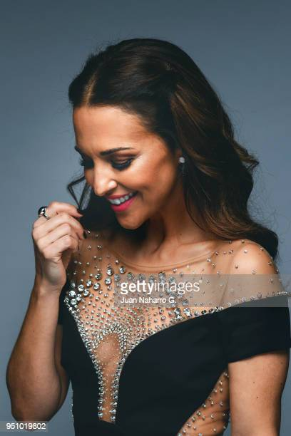 Spanish actress Paula Echevarria is photographed on self assignment during 21th Malaga Film Festival 2018 on April 21 2018 in Malaga Spain
