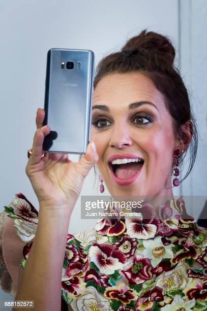 Spanish actress Paula Echevarria presents SMARTgirl by Samsung at Camera Studio on May 25 2017 in Madrid Spain