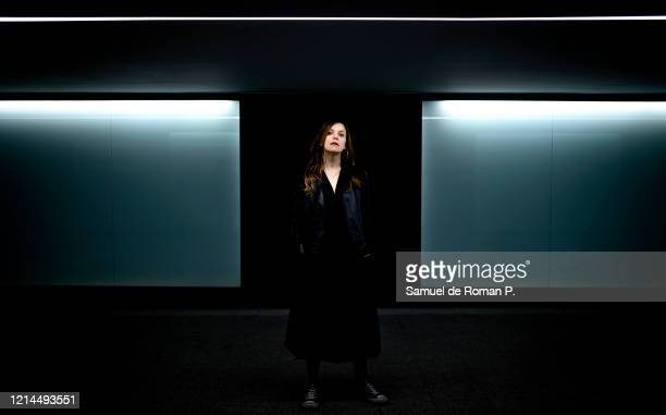 Spanish actress Paula Morado poses for a portrait session on March 09 2020 in Madrid Spain