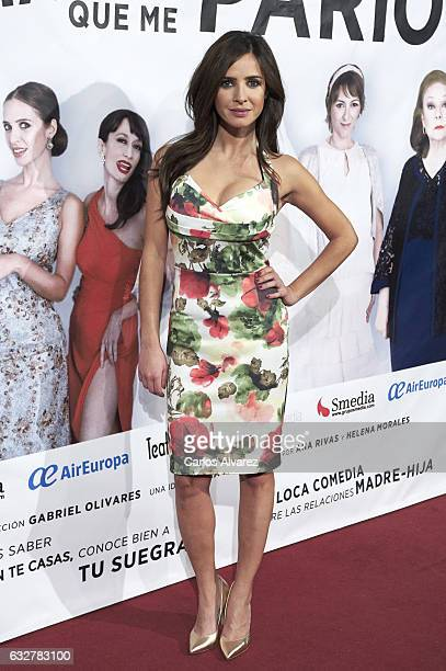Spanish actress Paula Prendes attends 'La Madre Que Me Pario' premiere at the Figaro Theater on January 26 2017 in Madrid Spain