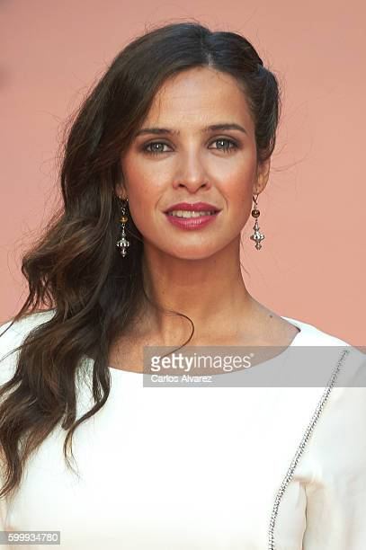 Spanish actress Paula Prendes attends 'Victor Ros' premiere at Principal Theater during FesTVal 2016 Day 3 on September 7 2016 in VitoriaGasteiz Spain