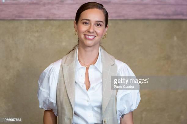 Spanish actress Paula Usero attends 'La Boda De Rosa' photocall on August 18, 2020 in Madrid, Spain.