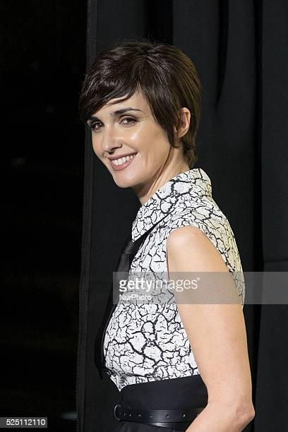 Spanish actress Paz Vega attends the Marie Claire Prix de la Moda 2015 at the Callao cinema on November 19 2015 in Madrid Spain