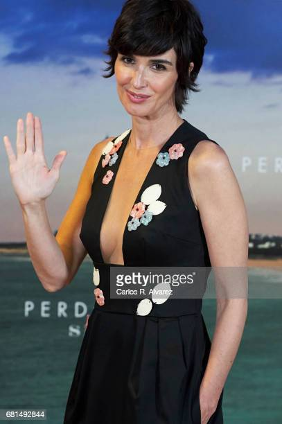 Spanish actress Paz Vega attends the 'Perdoname Senor' photocall at Mediaset Studios on May 10 2017 in Madrid Spain